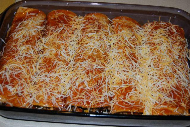 DSC 8556 Roasted Veggie Enchiladas