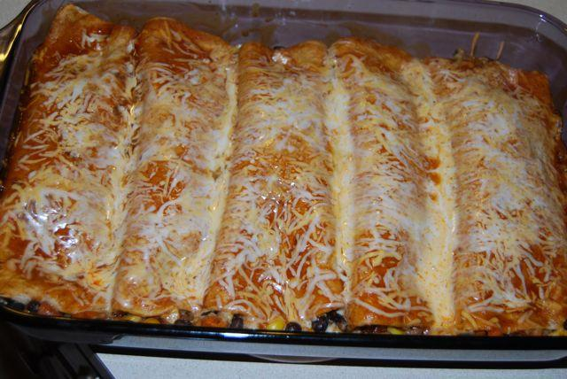DSC 8557 Roasted Veggie Enchiladas