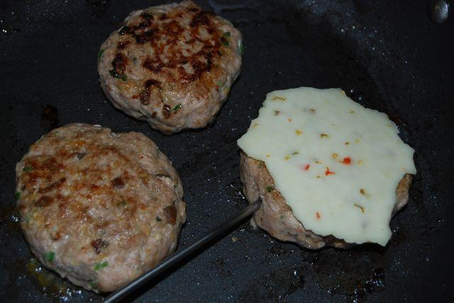 Balsamic Onion & Jalapeno Turkey Burgers