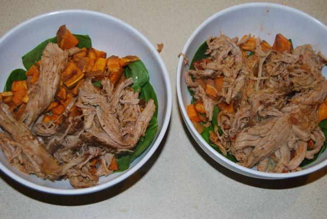 DSC 8911 Pork & Sweet Potato Bowls