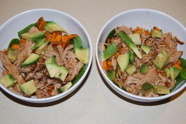 DSC 8912 Pork & Sweet Potato Bowls