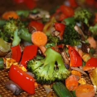 Roasted Vegetable Puffs