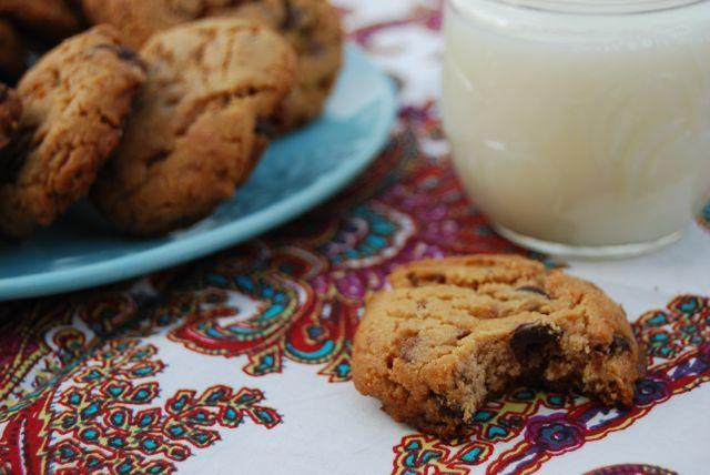Toffee Peanut Butter Chocolate Chip Cookies- so much deliciousness in one cookie- it's a must try!