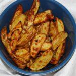 SRC: Baked Garlic-Beer Potato Wedges