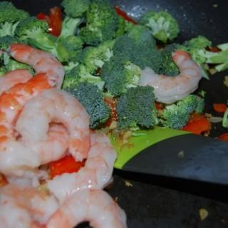 Sweet & Spicy Shrimp with Soba Noodles