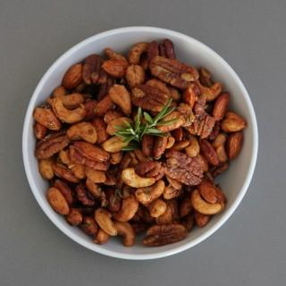 Chipotle & Rosemary Spiced Nuts