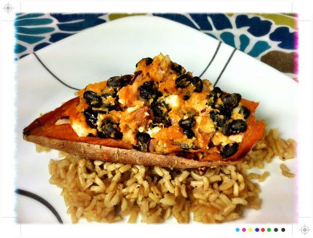 baked sweet potato 2 WIAW: Good, Better, Best