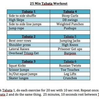 Fitness Friday 6