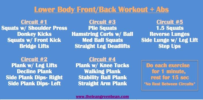 Circuit Cardio Workout