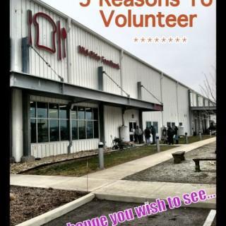 Five Reasons to Volunteer