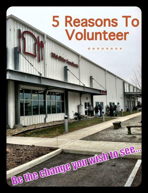 food Five Reasons to Volunteer