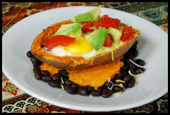 egg6 Sweet Potato Egg Boats