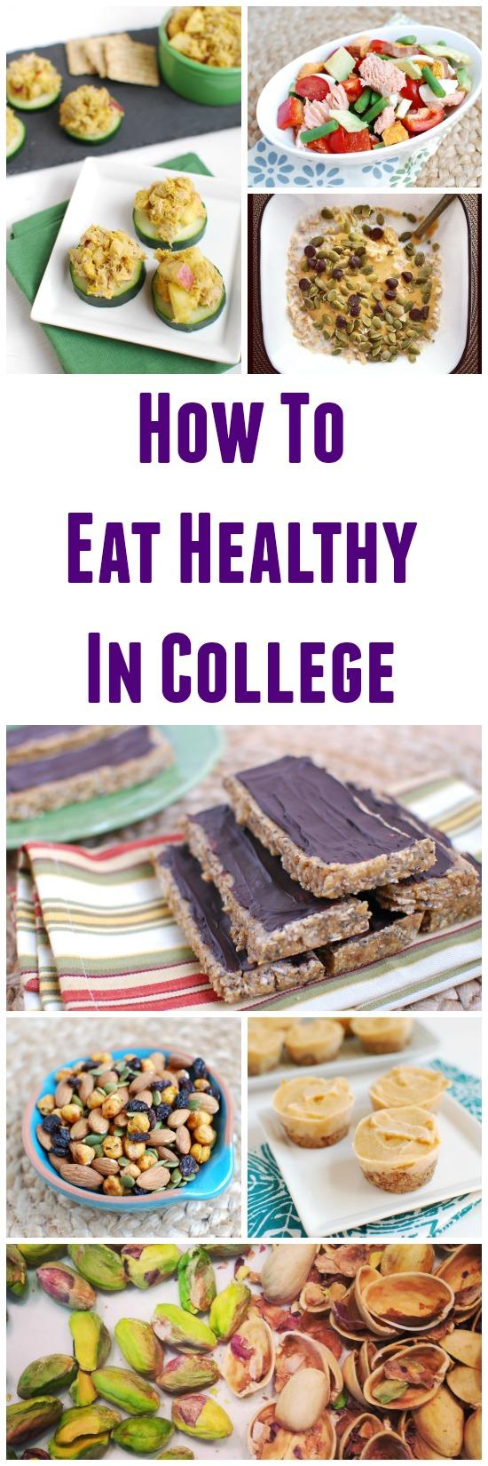 Real College Student of Atlanta: Healthy grocery shopping ... |Food Ideas For College Students