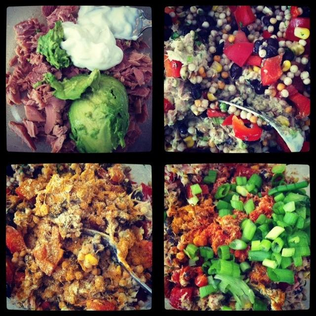 Diptic 3 Mexican Couscous  Three Ways