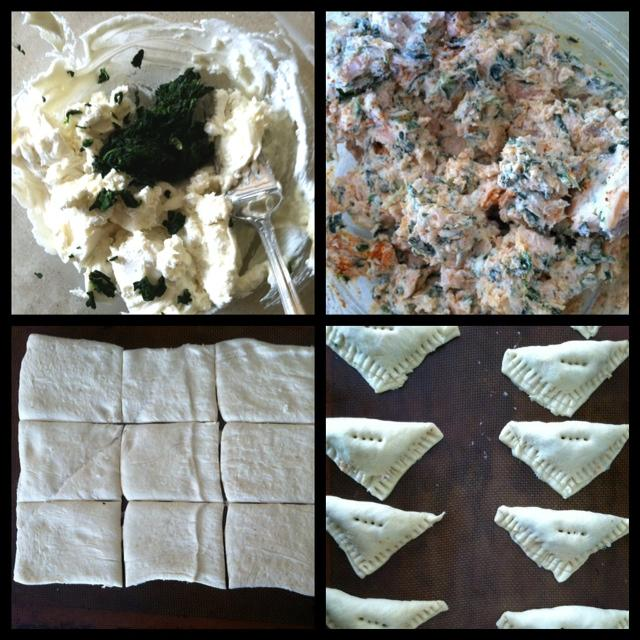 Diptic 9 Salmon & Goat Cheese Puffs