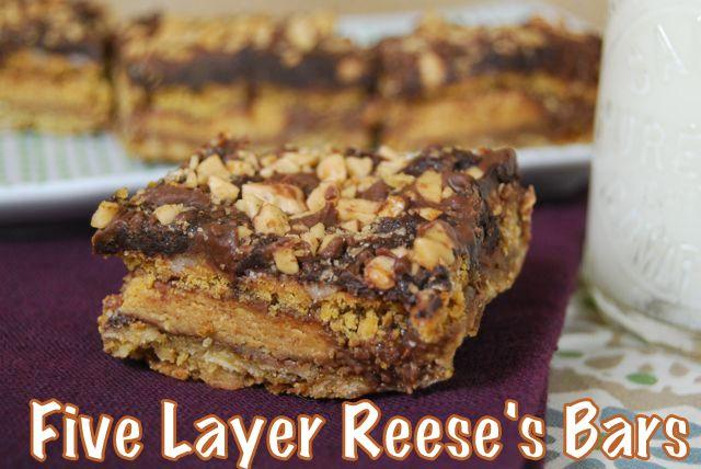 bar1 Five Layer Reeses Bars
