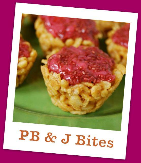 pb5 PB & J Bites and {Attune Foods}