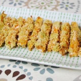 SRC: Avocado Dipped Sweet Potato Fries