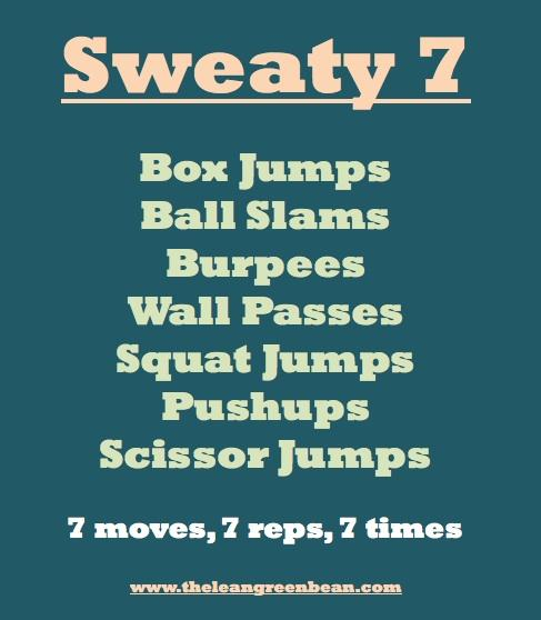 sweaty7 Fitness Friday 20