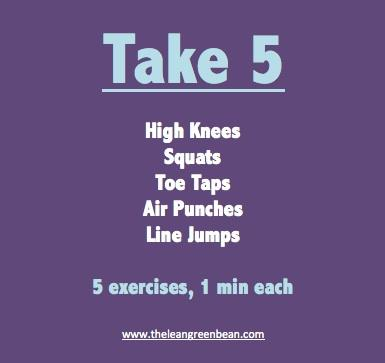 take5 Fitness Friday 20