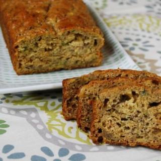 Whole Wheat Zucchini Banana Bread