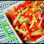 Sweet & Spicy Cucumber Salad