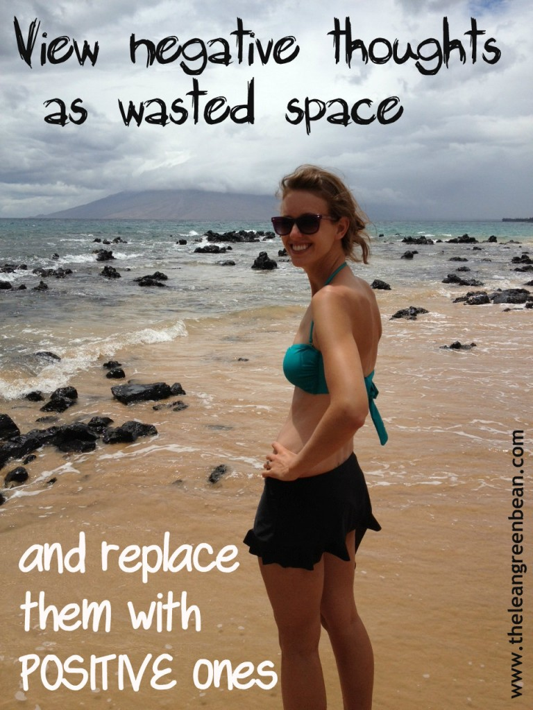 Negative Thoughts Are Wasted Space. How i'm learning to replace them with positive ones!