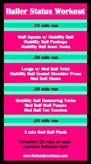 Baller Status Treadmill + Cardio Workout
