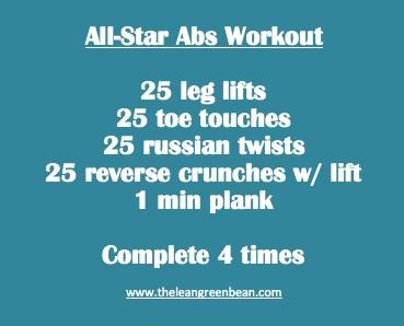 All Star Abs Workout