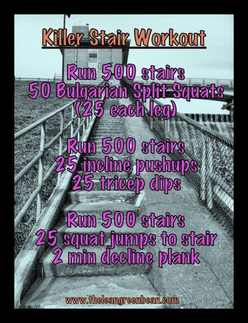 Stairs Cardio Workout