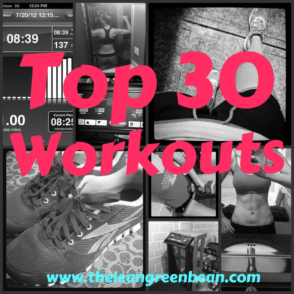 Looking for a new workout? Here are 30 of my favorites!