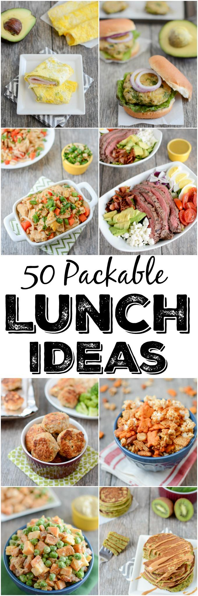 50 packable lunch ideas | lunch ideas for work | the lean green bean