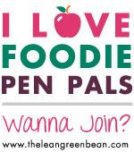 blogbadgeAPPLE September Foodie Penpals Reveal Day