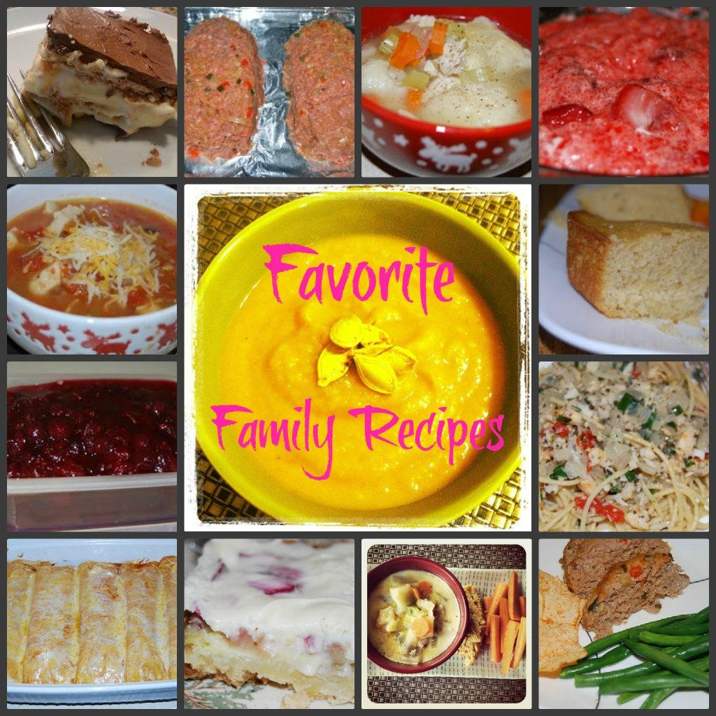 botbFam My Favorite Family Recipes