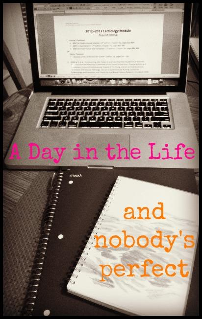 dayinthelife A Day In The Life {and Nobodys Perfect}