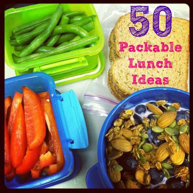 lunch 50 Packable Lunch Ideas