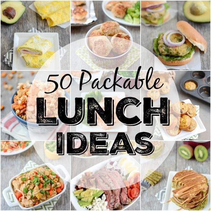 Here Are 50 Packable Lunch Ideas That Quick Easy And Healthy Perfect For