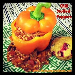 Quick Tip Thursday: Chili Stuffed Peppers
