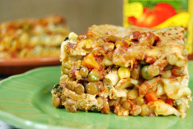 Crockpot Lentil Vegetable Lasagna Healthy Crockpot Recipe