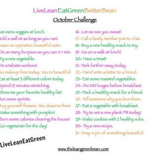 #LiveLeanEatGreen Challenge Recap