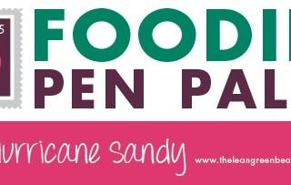Foodie Penpals for Hurricane Sandy