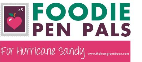 FPP Sandy1 Foodie Penpals for Hurricane Sandy