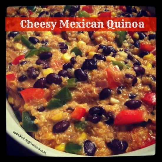 cheesy mexican quinoa e1355367881826 Cheesy Mexican Quinoa