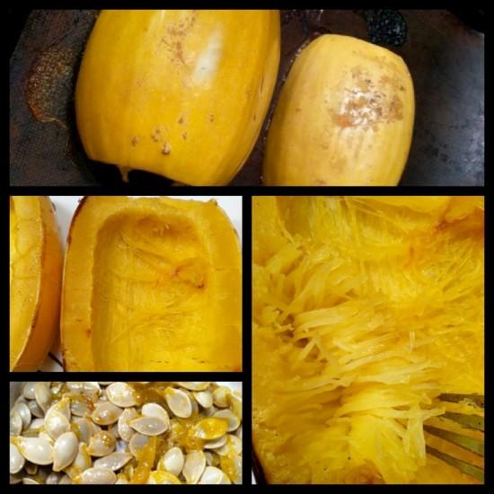 spagsquash4 e1354507597418 3 Ways to Cook Spaghetti Squash