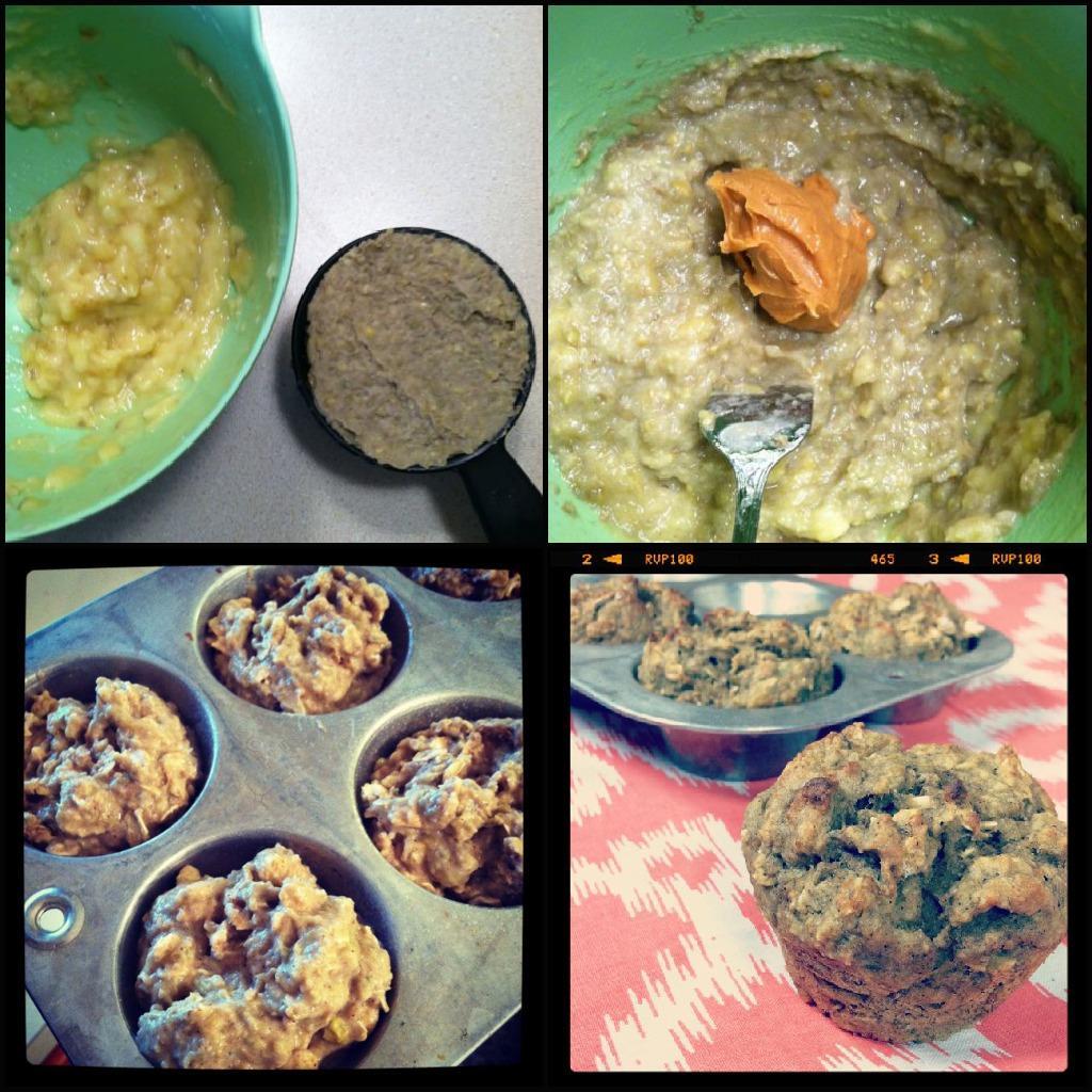 lentil banana muffins 1