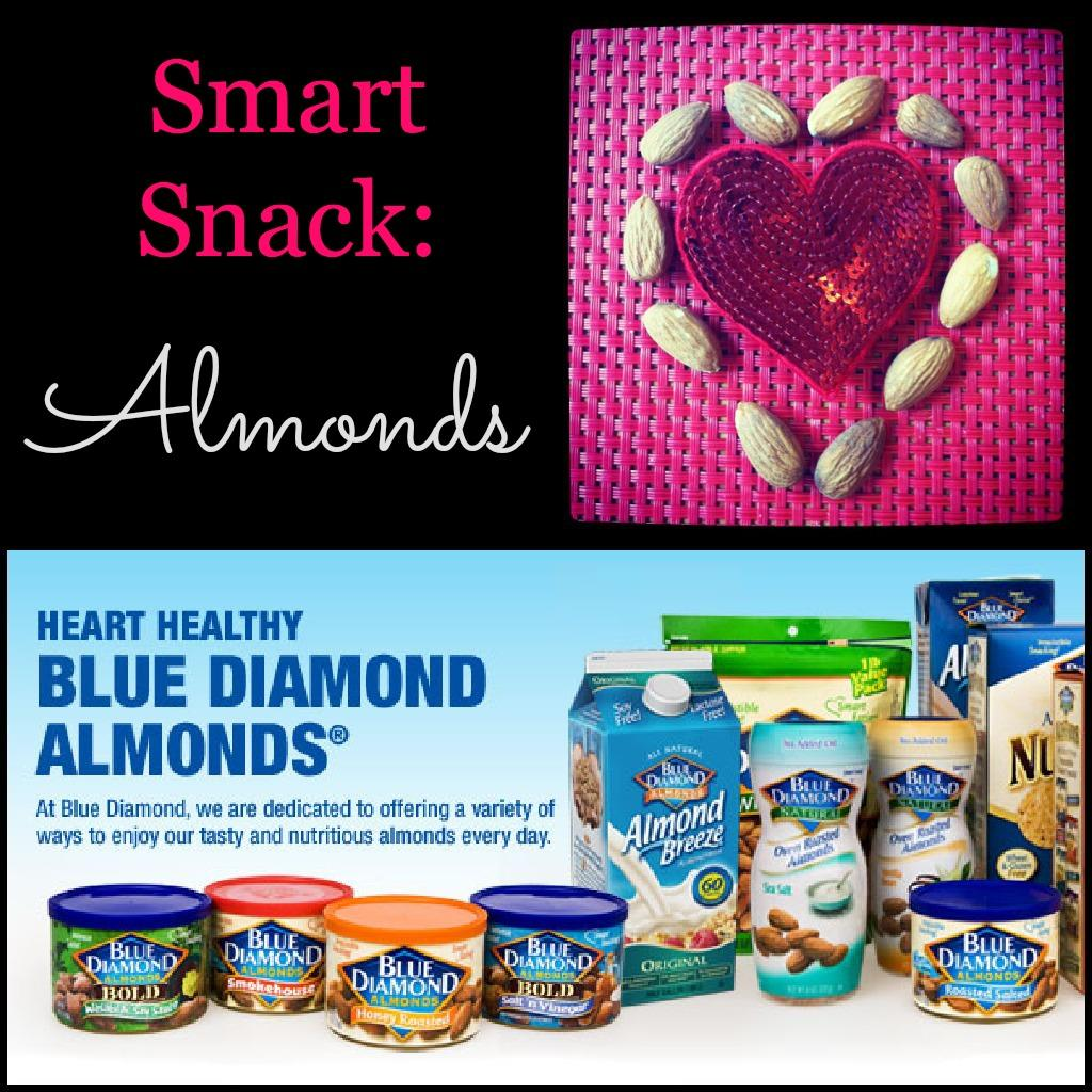 Heart Healthy Almonds Smart Snack: Almonds