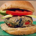 Greek Black Bean Burgers