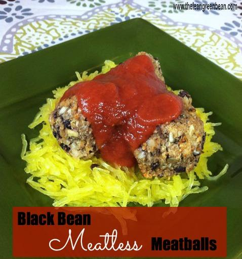 These vegetarian Black Bean Meatless Meatballs are protein-packed and hearty - you won't even miss the meat.