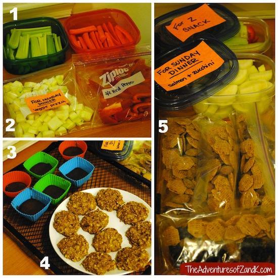 Kerry's Weekly Food Prep