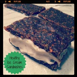 Healthy Ice Cream Sandwiches
